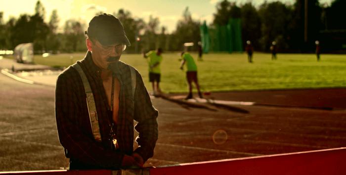 Kuopio Steelersin musiikkivideota kuvattiin Vänärillä.