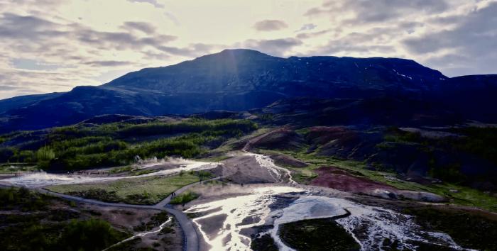 Kävimme kuvaamassa Islannissa Steelersin dokumenttisarjaa